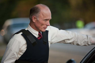 Ed Harris as Sheriff Dick Tipton in ``Virginia.&#39;&#39;